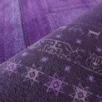 Gabbeh Teppich purple