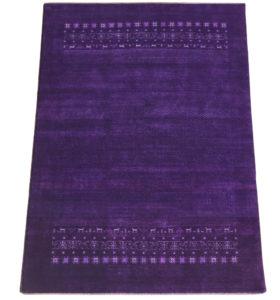Gabbeh Teppich lila purple violett