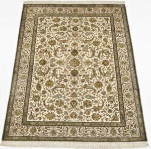 kashmir-teppich-seide-klassischen-blumen-ranken-muster-5755
